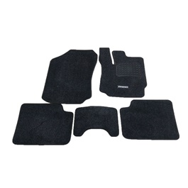 Toyota Passo Luxury Carpet Irani Floor Mat Black - Model 2016-2019-SehgalMotors.Pk