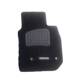 Toyota Land Cruiser FJ100 Luxury Carpet Irani Floor Mat Black - Model 1998-2007-SehgalMotors.Pk