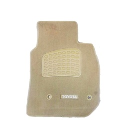 Toyota Land Cruiser FJ100 Luxury Carpet Irani Floor Mat Beige - Model 1998-2007-SehgalMotors.Pk