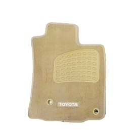 Toyota Prado FJ150 Luxury Carpet Irani Floor Mat Beige - Model 2008-2017-SehgalMotors.Pk