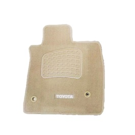 Toyota Land Cruiser LC200 Luxury Carpet Irani Floor Mat Beige - Model 2015-2019-SehgalMotors.Pk