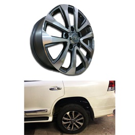 Toyota Land Cruiser OEM Alloy Rim 20 Inches Version A - Model 2017-2019	-SehgalMotors.Pk