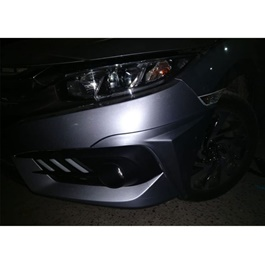 Honda Civic American Style Body Kit / Bodykit ABS Plastic 4 Pieces - Model 2016-2019 -SehgalMotors.Pk