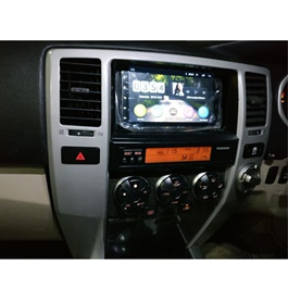 Toyota Hilux Surf Android LCD IPS Multimedia Navigation System - Model 2002-2009-SehgalMotors.Pk