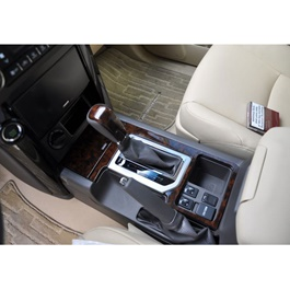 Toyota Prado Mate Wooden Style Interior Kit- Model 2009-2021-SehgalMotors.Pk