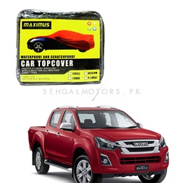 Isuzu D-Max / DMax / D Max Maximus Non Woven Scratchproof Waterproof Car Top Cover - Model 2018-2019