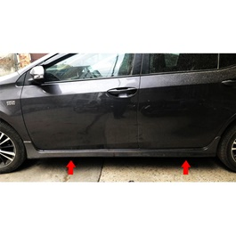 Toyota Corolla Grande Side Skirts Taiwan- Model 2017-2019-SehgalMotors.Pk