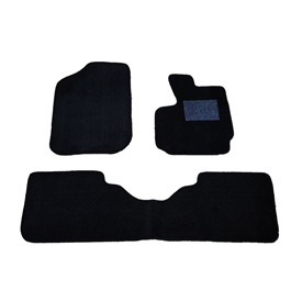 Toyota Passo Custom Fit Carpet Floor Mat Black - Model 2016-2019-SehgalMotors.Pk