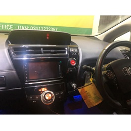 Toyota Prius Alpha LCD multimedia IPS Display Android System - Model 2009-2015-SehgalMotors.Pk