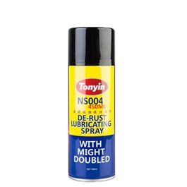 Tonyin De-Rust Lubricating Spray - 450ml | Powerful All Purpose Rust Cleaner Spray | Derusting Spray Car Maintenance | Household Cleaning Tools Anti Rust Lubricant-SehgalMotors.Pk