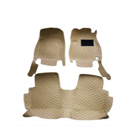 Toyota Hilux Revo 7D Stiched Floor Mat Beige - Model 2016-2019-SehgalMotors.Pk