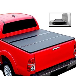 Toyota Hilux Revo Tri Folding Hard Lid - Model 2016-2019-SehgalMotors.Pk
