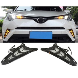 Toyota CHR Front LED DRL Tail Arrow Style - Model 2017-2019