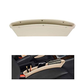 Car Seat Gap Filler Leather Beige - Each-SehgalMotors.Pk