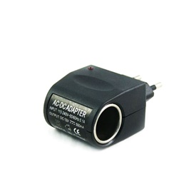 Universal AC to DC Car Cigarette e Lighter Socket Adapter-SehgalMotors.Pk