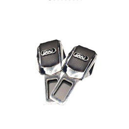 Audi Logo Car Metal Safety Seat Belt Buckle Clip-SehgalMotors.Pk