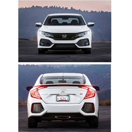 Honda Civic FC SI Body Kit / Bodykit - Model 2016-2020-SehgalMotors.Pk
