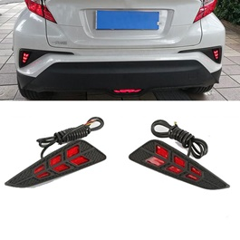 Toyota CHR Brake Bumper Tail Lights Arrow Style - Model 2017-2021-SehgalMotors.Pk