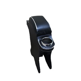 Suzuki Wagon R Custom Fit Arm rest Style B Black- Model 2014-2019-SehgalMotors.Pk