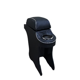 Toyota Aqua Custom Fit Arm Rest Black - 2012-2019-SehgalMotors.Pk