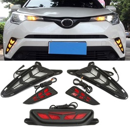 Toyota CHR Front Back And Middle Lamp Set 5 Pcs - Model 2017-2019-SehgalMotors.Pk