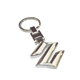 Suzuki logo Key Chain / Key Ring Chrome-SehgalMotors.Pk