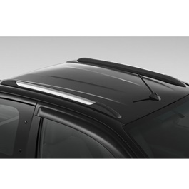 Toyota Hilux Revo Roof Rail Black And Silver  - Model 2016-2019
