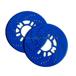 Disc Rotary Plate Cover Blue-SehgalMotors.Pk