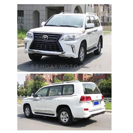 Toyota Land Cruiser 2012 Conversion to Lexus LX570 2019 -SehgalMotors.Pk