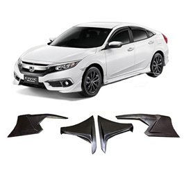 Honda Civic Modulo Body Kit ABS Plastic 4 pieces - Model 2016-2019-SehgalMotors.Pk