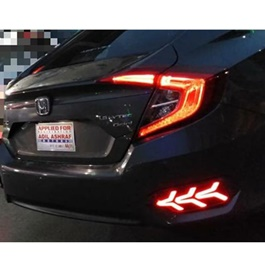 Honda Civic Back Bumper Light V3 Arrow Style LED - Model 2016-2019