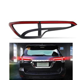 Toyota Fortuner Rear Tail Light Cover with LED Light bar - Model 2016-2021-SehgalMotors.Pk