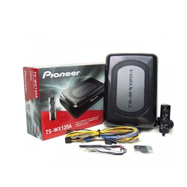 Pioneer Compact Active Subwoofer TS-WX120A - Black-SehgalMotors.Pk