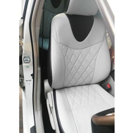 Toyota Prius Seat Covers Black and White - Model 2016-2019-SehgalMotors.Pk
