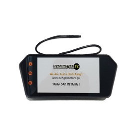 Universal LCD Multimedia With Mp5 Rearview Mirror Version 4-SehgalMotors.Pk
