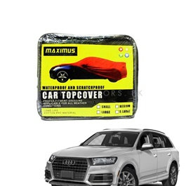Audi Q5 Maximus Non Woven Scratchproof Waterproof Top Cover - Model 2018-2019-SehgalMotors.Pk