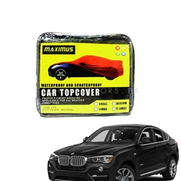BMW X4 Maximus Non Woven Scratchproof Waterproof Top Cover - Model 2014-2018-SehgalMotors.Pk