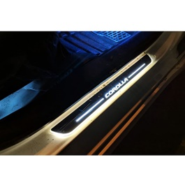 Toyota Corolla LED Sill Plates - Model 2017-2019