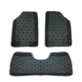 Suzuki Cultus Carpet Custom Floor Mat Black - Model 2017-2019-SehgalMotors.Pk