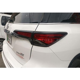 Toyota Fortuner Back lights Frame Black Color 2 Pcs - Model 2016-2019-SehgalMotors.Pk