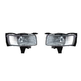 Toyota Corolla Axio LED DLAA Fog Lamps / Fog Lights TY052 - Model 2005-2007-SehgalMotors.Pk