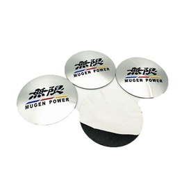 Mugen Wheel Cap Logo - 4 pieces-SehgalMotors.Pk