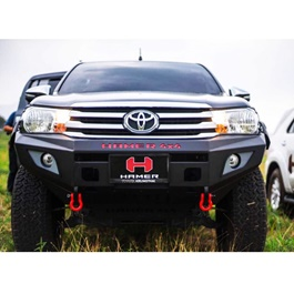 Toyota Hilux Revo Hamer Front Bull Bar Version 1- Model 2017-2019-SehgalMotors.Pk