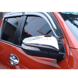 Toyota Hilux Revo Side Mirror Chrome Cover - Model 2016-2019-SehgalMotors.Pk