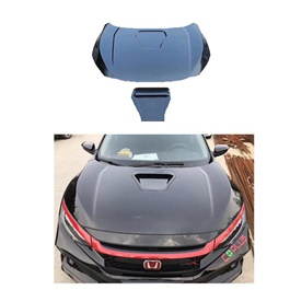 Honda Civic Type R Style Front Bonnet - Model 2016-2020-SehgalMotors.Pk