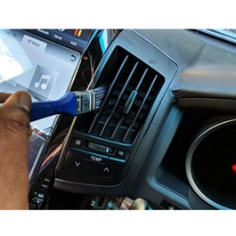 Car Care interior Detailing Brush Blue-SehgalMotors.Pk