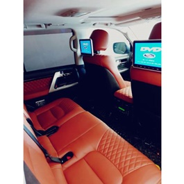 Toyota Land Cruiser Japanese Leather Type Rexine Seat Covers - 2015-2018-SehgalMotors.Pk