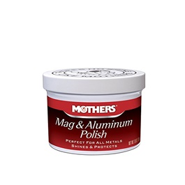 Mothers Mag & Aluminum Polish - 05 oz-SehgalMotors.Pk