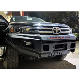 Toyota Hilux Revo Hamer Front Bull Bar Version 1- Model 2017-2020-SehgalMotors.Pk
