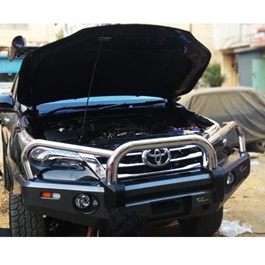 Toyota Hilux Revo Front Chrome Bull Bar - Model 2016-2019-SehgalMotors.Pk
